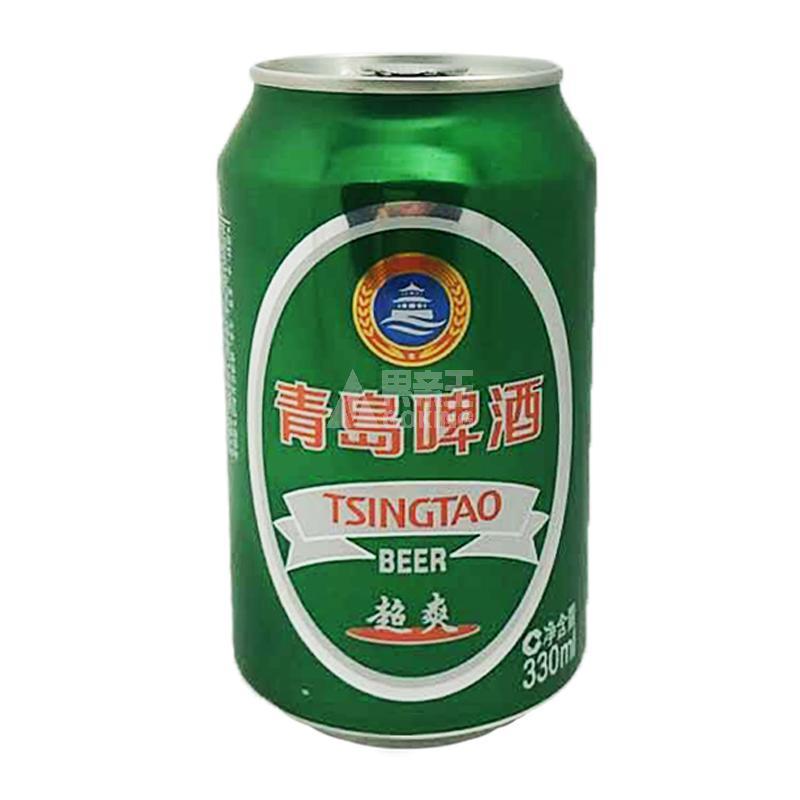 t青岛啤酒(超爽)罐装330ml/罐