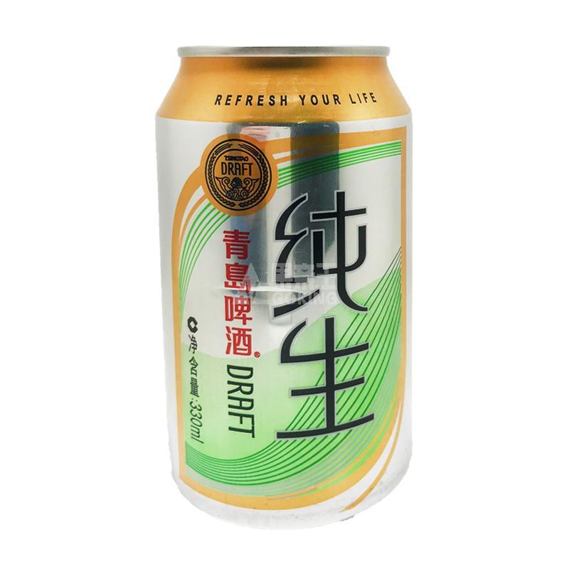 z(散批)青岛啤酒金质纯生罐装330ml/罐